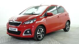 2016 Peugeot 108 PURETECH ALLURE Petrol red Manual