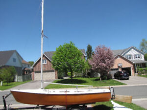 16 Foot Sailboat.  Lots of summer left to enjoy!