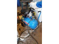 AirMaster compressor used for one job so virtually brand new