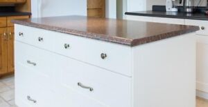 Laminate Countertop from Kitchen Island