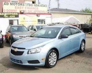 """ ACTIVE STATUS "" ONE OWNER!!   2011 CHEVROLET CRUZE AUTO 19K"