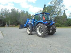 Tracteur New Holland 74-75