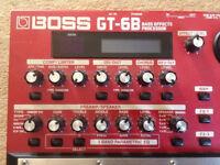 Boss GT-6B bass gutiar multieffekt