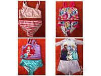 Bundle of girls swimming 2 pieces Age 8-9