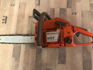"Used Husqvarna 257 chainsaw 20"" 57cc for Sale"