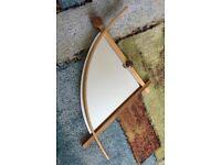 Bow shape mirror - £5
