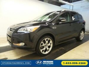 2014 Ford Escape Titanium 4x4 Navi Cuir Toit Demarreur Bluetooth