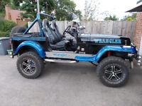 Jeep Wrangler soft top 6 inch lift new hood, loads of money spent monster truck awsome beast