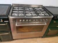 Delonghi Professional Dual Fuel Range Cooker 90cm.3 months warranty