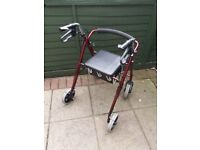 4 Wheeled Walker As New Never Raced or Raillied
