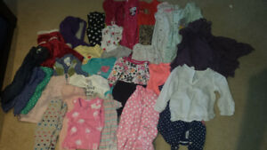 Baby girl 6-12 month clothes