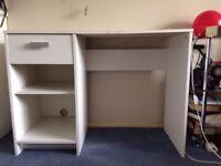 White Desk For Sale - Fab Condition