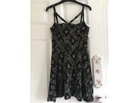 Women's little black dress