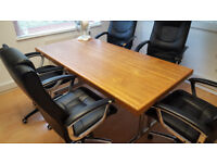 Foldable Office Meeting Table - £80 - Canary Wharf, London