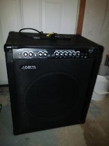 DELTA DB-100 MOSFET 100 WATT BASS GUITAR AMP