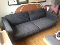 FREE sofa / Ikea Karlstad sofa / 3-seater sofa / grey sofa