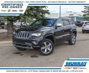 2015 Jeep Grand Cherokee Overland *Leather *Sirius XM