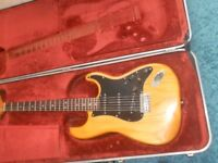 USA Fender Stratocaster 1978-1979 NATURAL ALL ORIGINAL