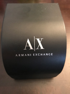 Armani Exchange Watch Stainless Steel Like New.