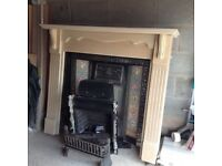 GAS FIRE AND SURROUND FOR SALE!!