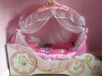 Disney princess toddler bed with matching furniture
