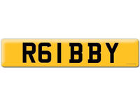 R6 IBBY Robby R61 BBY Gibby Ibrahim Iby AUDI Yamaha Bobby Robert Robbie IBBEY IBS IBZ number plate