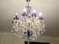 Chandeliers, light fixtures services