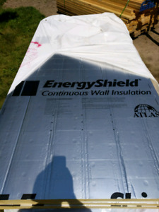 "4' x 8' x 2"" rigid polyiso insulation boards (R13.1)"
