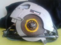 Makita circular saw 110V used but fully working, good rip saw, model 5704R 190mm 1200W