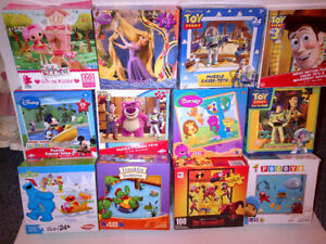 A Real Deal $30 for 36 Fun Puzzles 36 Kids Puzzles Ages 3 Plus!
