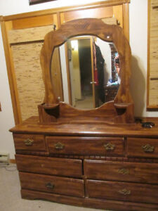 Large Bureau with Mirror Asking  $25.00  SOLD PPU