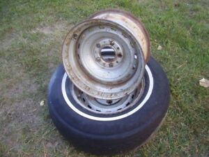 "Chevy pickup truck 15x8"" rally wheels"