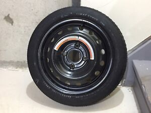 MINT Spare Tire on Rim - T125/70D15 95M - $35 Cash