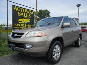 **AS-IS** 2003 Acura MDX  3.5L 4 WD Automatic