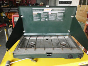 Coleman 2 Burner propane stove Good Working! in Enderby, call, t
