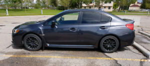WRX Sport Tech Package- Leather & Premium Wheels