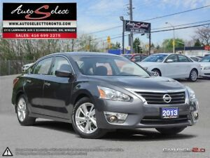 2013 Nissan Altima ONLY 65K! **BACK-UP CAMERA** SUNROOF **SV...