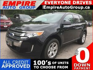 2014 FORD EDGE SEL * LEATHER * REAR CAM * NAV * PANO SUNROOF * U