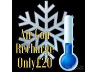 Air Con Recharge £20