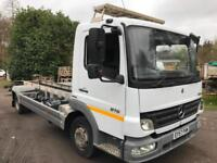 2007 57 Mercedes-Benz Atego 816 19ft chassis cab lez