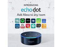 Amazon Echo Dot Black - Brand New