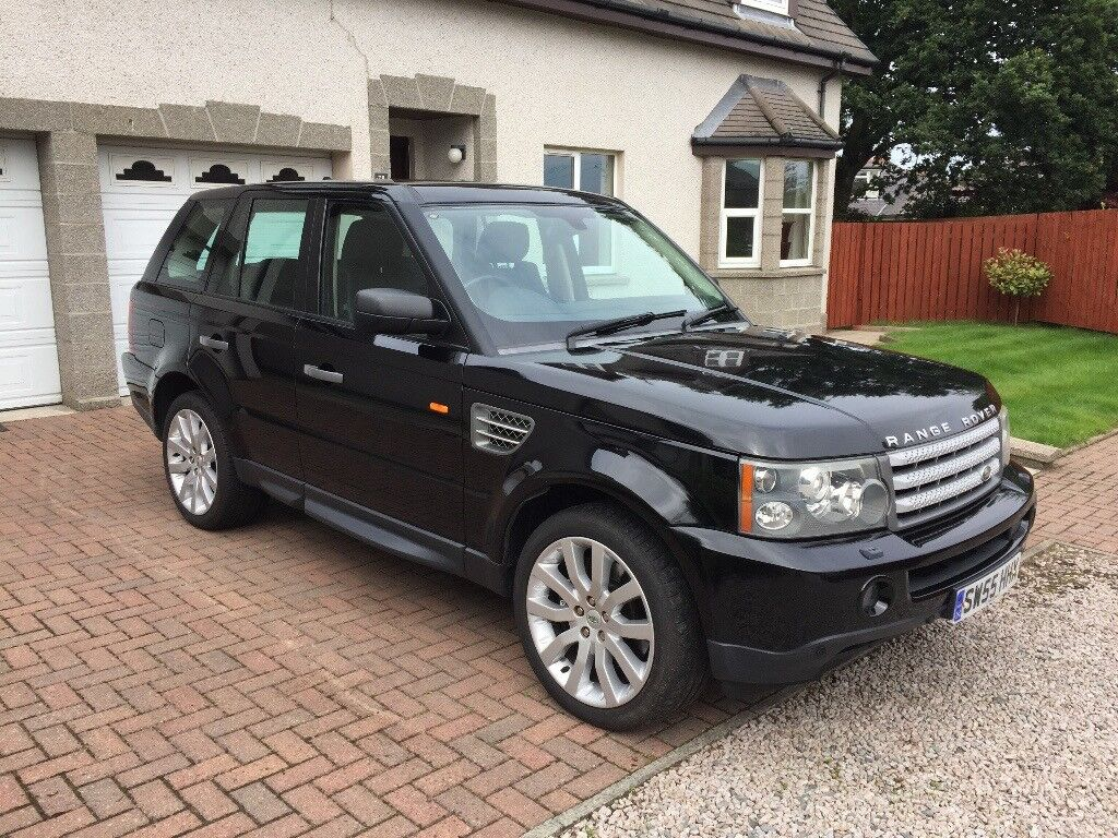 range rover sport v8 supercharged 5dr auto java black low mileage good condition in. Black Bedroom Furniture Sets. Home Design Ideas