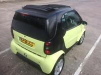 2002 SMART CAR PULSE SOFT TOP, CONVERTIBLE, LONG MOT 2018, READY TO GO