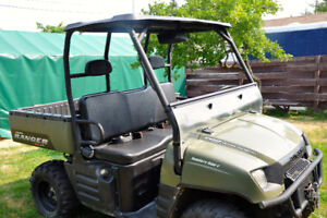 "2006 Polaris Ranger with Polaris 72"" Plow System"