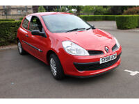 2008 RENAULT CLIO 1.2 FREEWAY 75k with FSH MOT 1 YEAR GREAT CONDITION **BARGAIN** £1595ono 1st CAR