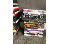 160 dvds job lot