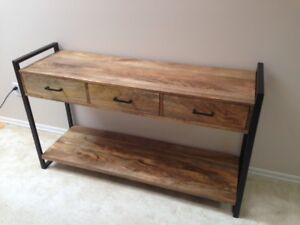 Benson Console Table and End Tables