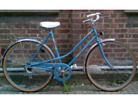 Vintage french dutch style ladies bike MBK Country- totaly unique Mint condition - serviced warranty