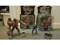Resident evil 2 ToyBiz figures