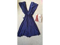 BHS Twist & Wrap Bridesmaids Dress